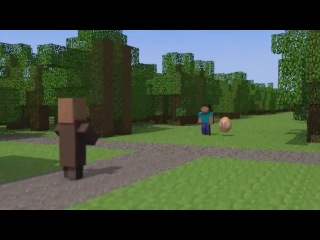 | ���� � ���� ��������� - 4 ����� | Egg in the world Minecraft - 4 series |